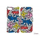 Keith Haring Collection Flip Cover for iPhone 7