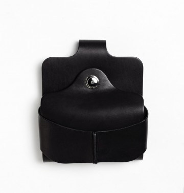 COLORS x Vintage Revival Productions Gravity Belt Holster 国産オイルレザー / ブラック