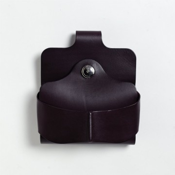 COLORS x Vintage Revival Productions Gravity Belt Holster イタリア産リスシオレザー / ワインレッド