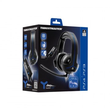 Thrustmaster Y-300P アンプ内蔵 Stereo Gaming Wired Headset for PlayStation®4/PlayStation®3 【正規保証品】