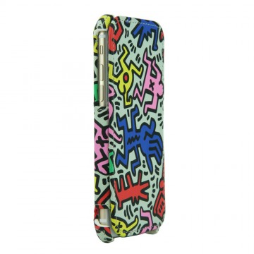 Keith Haring Collection Flip Cover for iPhone 6 Chaos
