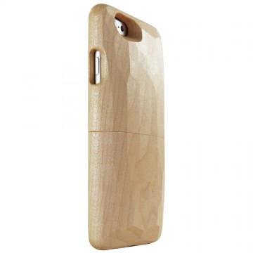 Real Wood Case for iPhone 6/6s  かえで(平刀一刀彫)