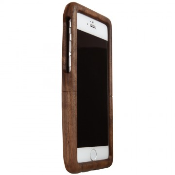Real Wood Case for for iPhone 6/6s  くるみ(平刀一刀彫)