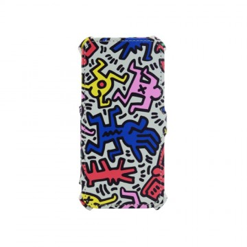 Keith Haring Collection Flip Cover for iPhone 6/6s Chaos