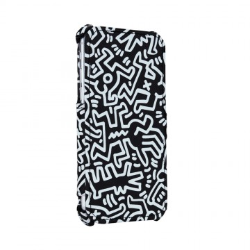 Keith Haring Collection Flip Cover for iPhone 7 Chaos/Black x White