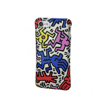 Keith Haring Collection TPU Case for iPhone 7 Chaos
