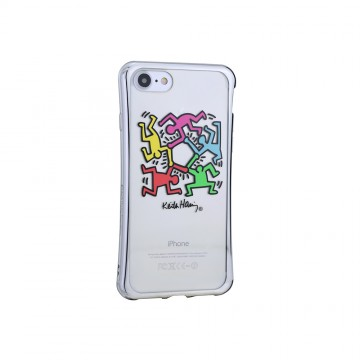 Keith Haring Collection TPU Case for iPhone 7 Hexagon Figs
