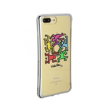 Keith Haring Collection TPU Case for iPhone 7 Plus Hexagon Figs