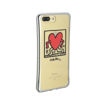 Keith Haring Collection TPU Case for iPhone 7 Plus Running Heart