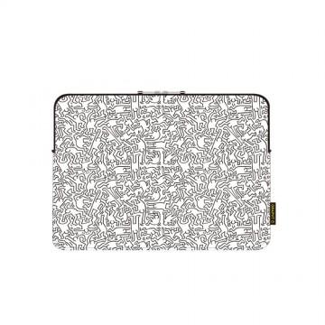 """Sleeve MacBook(15"""") Pe/Wh"""