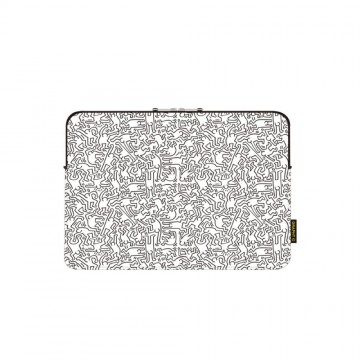 """Sleeve MacBook(13"""") Pe/Wh"""