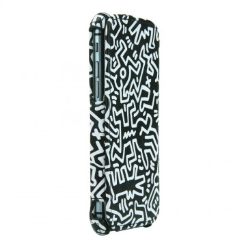 Keith Haring Collection Flip Cover for iPhone 6 Chaos/Black x White