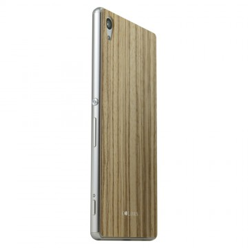 THE WOOD SKIN Surface Collection for Xperia Z4 Zebra Wood