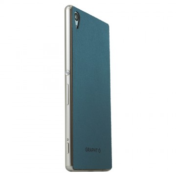 THE Ultrasuede Skin Surface Collection for Xperia Z4 Turquoise