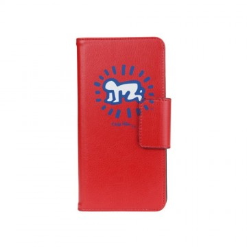 Keith Haring Collection Flip-Out Cover Baby Symbol/Red