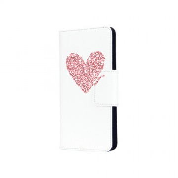 Keith Haring Collection Flip-Out Cover Heart/White x Red