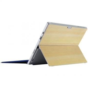Microsoft公式ライセンス商品 : THE WOOD SKIN for Microsoft Surface Pro 4 Cedar Tree