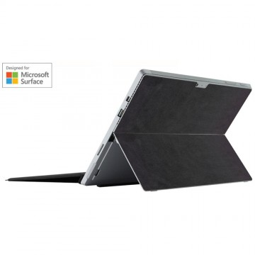 Microsoft公式ライセンス商品 :  THE SUEDE SKIN for Microsoft Surface Pro 4 / Charcoal