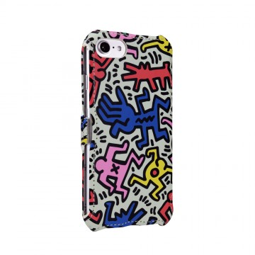Keith Haring Collection Flip Cover for iPhone 7 Chaos
